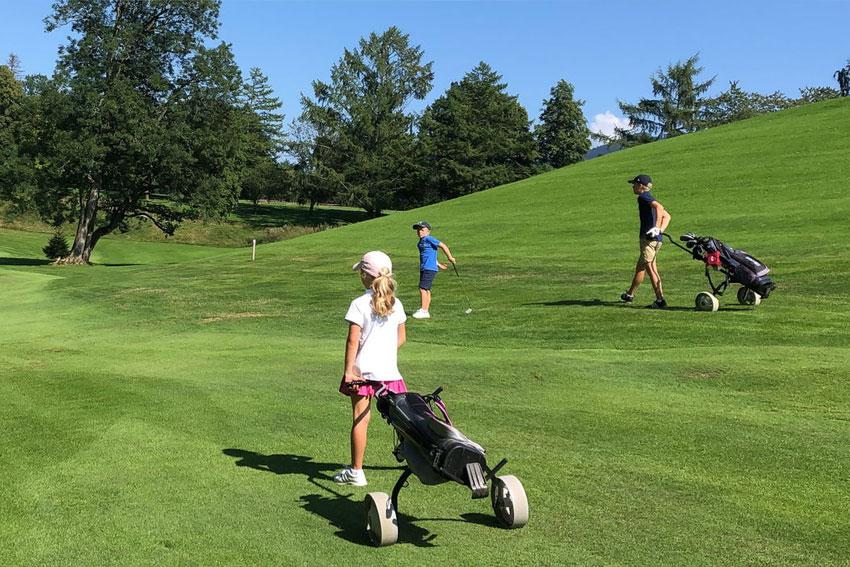 Golfcenter Bad Wiessee - Ideales Übungsgelände für Familien und Kinder mit eigenem Kinder- Golfkurs